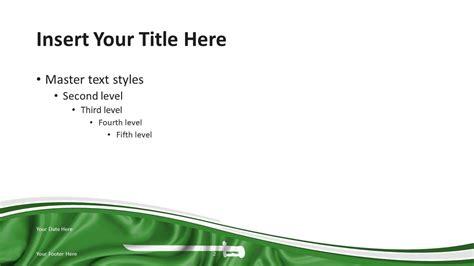 Ksa Template by Saudia Arabia Flag Powerpoint Template Presentationgo
