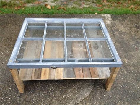 reclaimed window pallet coffee table pallet furniture plans
