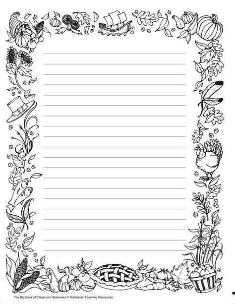Printable Stationary Black And White Www Imgkid Com The Image Kid Has It Stationary Template