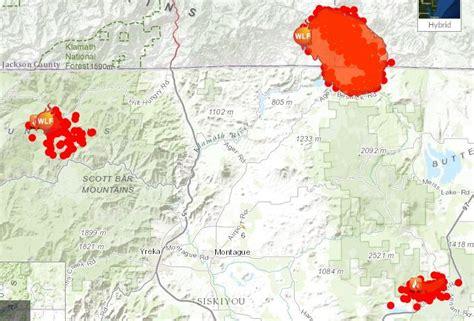 oregon fires map 10 000 acres a day oregon gulch marches on jefferson radio