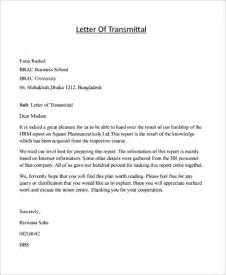 transmittal letter example template design