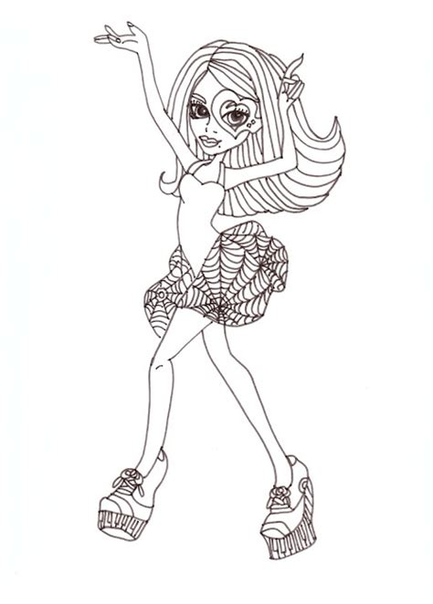 all monster high dolls coloring pages monster high coloring pages operetta photograph all about
