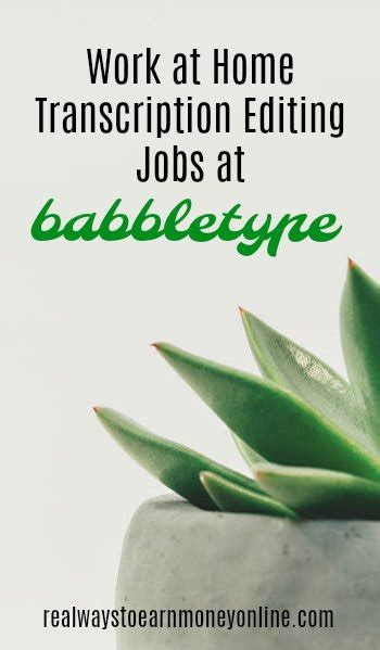 babbletype review get paid to do transcription editing