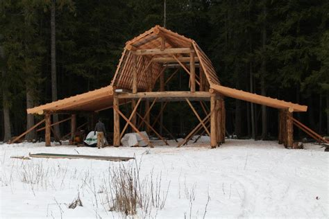 Log Barn Plans | image gallery log barn plans