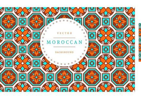 Moroccan Vector Background   Download Free Vector Art