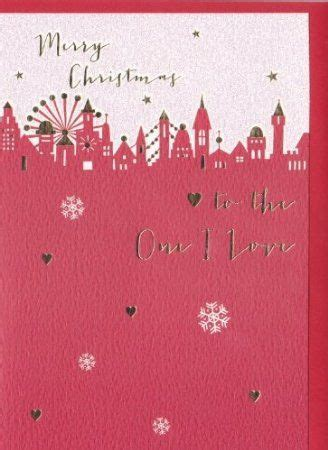 Where To Buy Love To Shop Gift Card - to the one i love cityscape christmas card karenza paperie