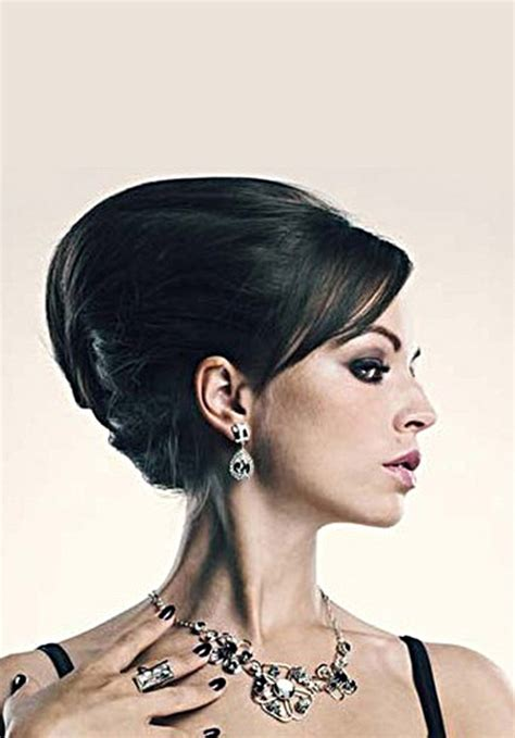 Wedding Reception Hairstyles For Guests by Reception Hairstyle And Indian Wedding Hair Style Ideas
