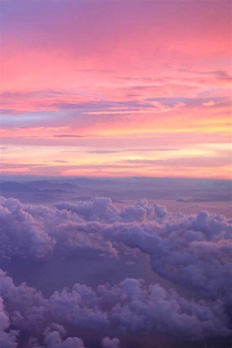 colorful streaks   sunset sky aesthetic pretty