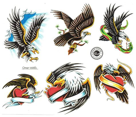 11 six tattoo easy eagle designs www pixshark images