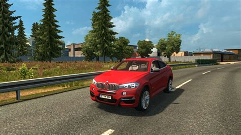 ets 2 bmw x6 2016 car mod simulator mods