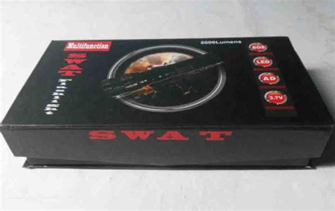 Senter 5000 Watt jual aneka barang senter swat multifunction flashlight