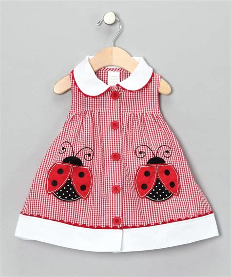 ladybug dress grandchildren