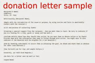 Sample Letter Charity With Donation letter donation letter sample sample donation letter for charity