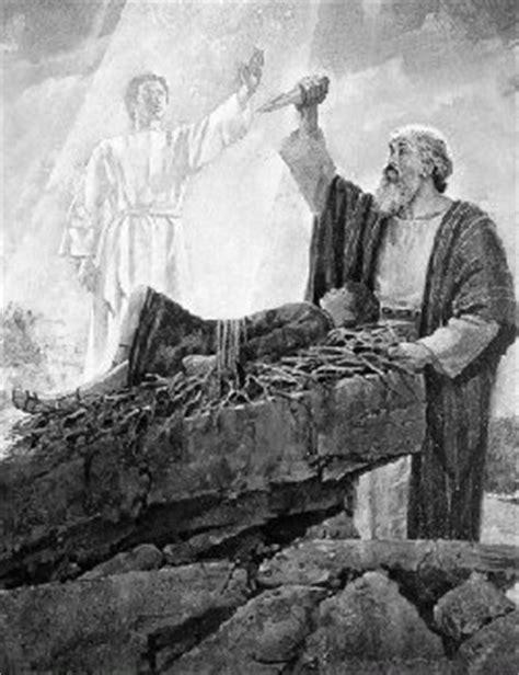 Abraham Sacrificing Isaac - Mormon Bible