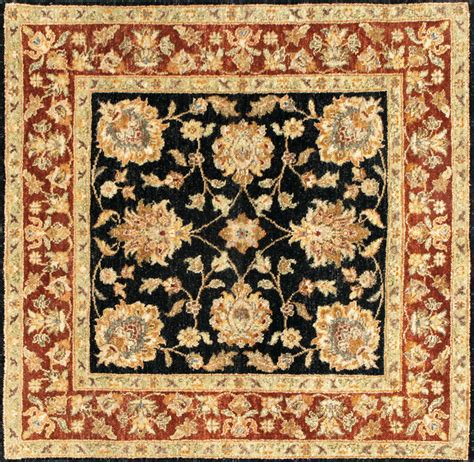 4x8 Outdoor Rug rugsville ziegler wool black rust rug 10293 4x8