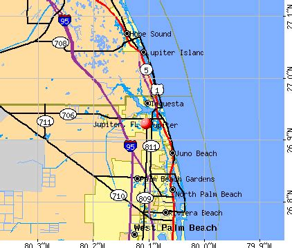 map of florida jupiter jupiter florida fl profile population maps real