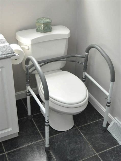 Carex Adjustable Bath And Shower Seat bathroom safety rail amp toilet support rail 300 lbs