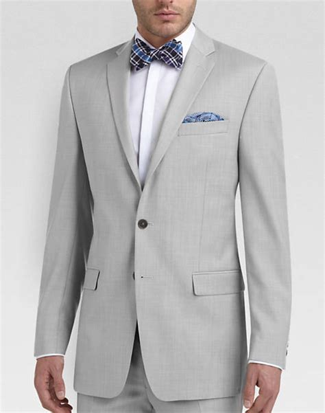 Tshirt Kepala Macan One Clothing 100 wool light gray sharkskin suit s suits calvin