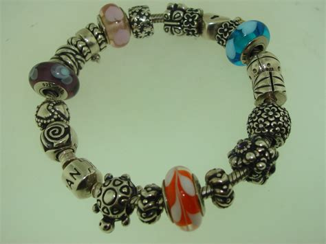 7 Pretty Charms For Your Daughters Charm Bracelet by Beautiful Authentic Pandora Ale 925 Sterling 7 1 2