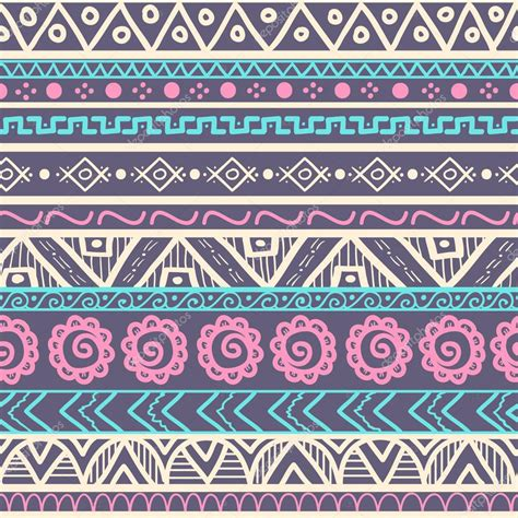 imagenes decoradas para imprimir hipster tribal striped seamless pattern stock vector 43832795