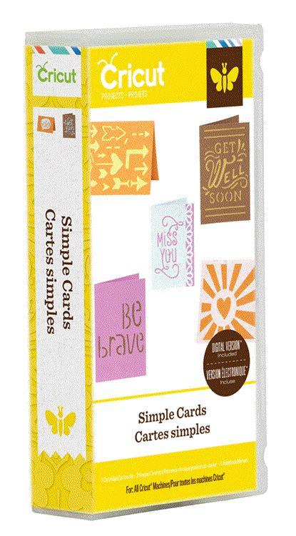 simple card cricut 174 projects cartridge simple cards cricut shop