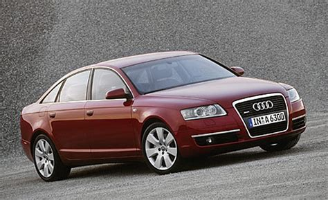 audi a6 2005 review car and driver