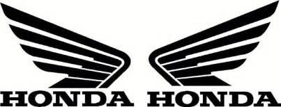 Honda Atv Logo Honda Wings Set Vinyl Decal Atv Tank And 26 Similar Items
