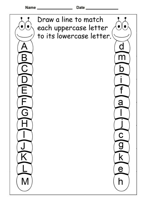 Free Printable Letter Worksheets by 4 Year Worksheets Printable Activity Shelter