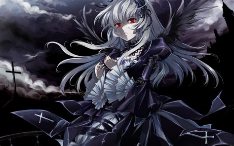 wallpaper girl dark dark anime wallpapers wallpaper cave