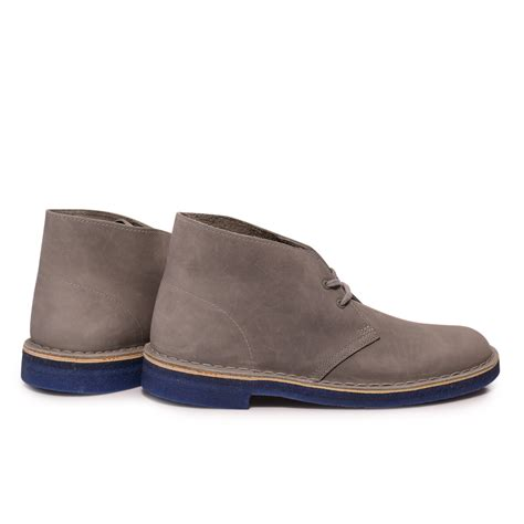mens blue desert boots clarks mens grey blue suede desert boots shoes size 7 11