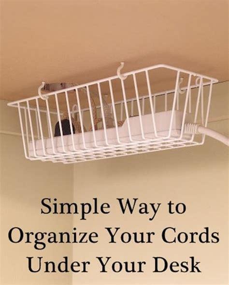 Desk Organization Diy by Best 25 Hide Computer Cords Ideas On Hiding