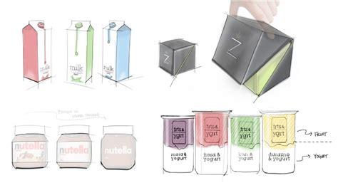 Minimal Design yogurt packaging graphics tae kyung kim