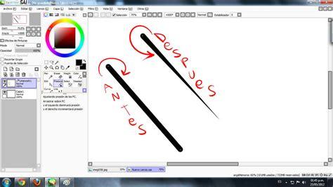 tutorial como dibujar en paint tool sai tutorial sai paint tool arte taringa