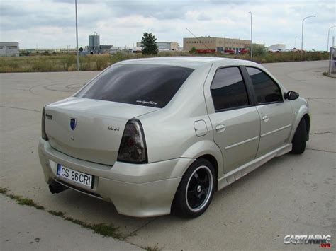 renault dacia tuning renault dacia logan 187 cartuning best car tuning