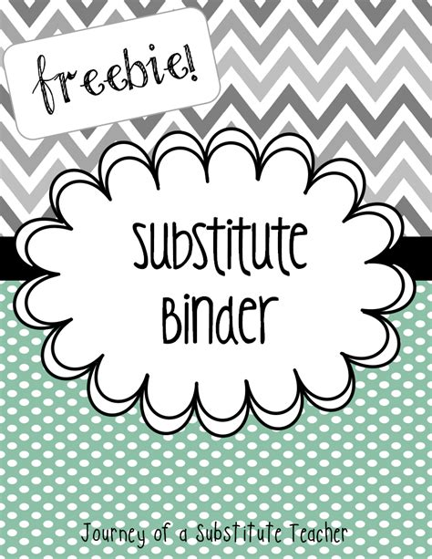 printable binder covers for teachers free editable substitute binder bts13 teacher bts top