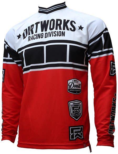 Baju Dan Celana Dryfit Putih Merah jersey sepeda dirtworks subdivision merah jual baju