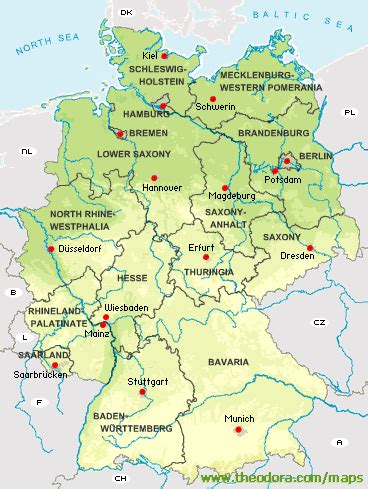 map of deutschland germany maps of germany deutschland karten flags german
