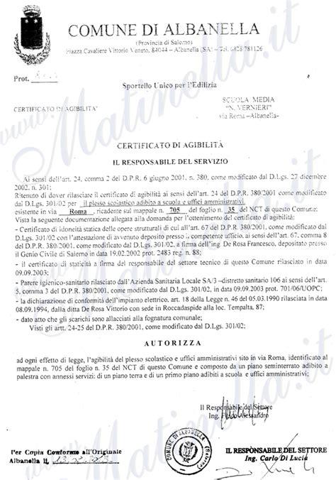 casa moderna roma italy certificato agibilita