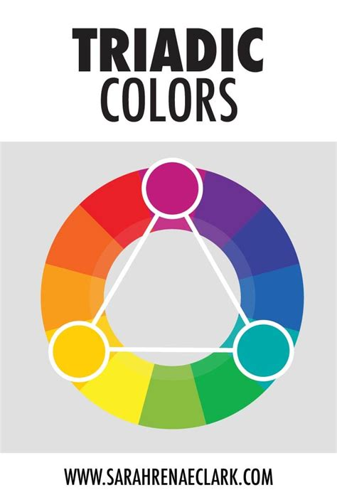 triadic color understanding color theory the basics clark