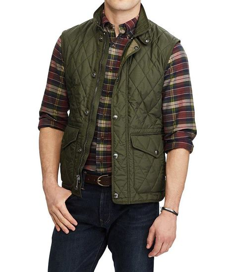 Polo Ralph Quilted by Polo Ralph Big And The Iconic Quilted Vest In