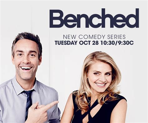 tv benched benched usa series thread s eliza coupe jay