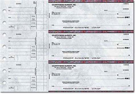 Desk Checks 3 Per Page by 3 Per Page Business Checks Custom Business Checks