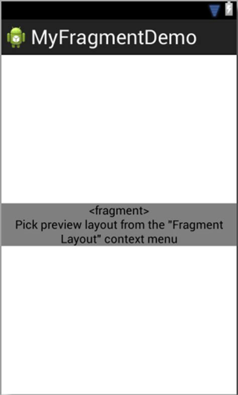 android layout placeholder an introduction to android fragments techotopia