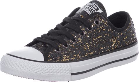 black sequin converse sneakers converse all sequin flag ox w shoes black gold