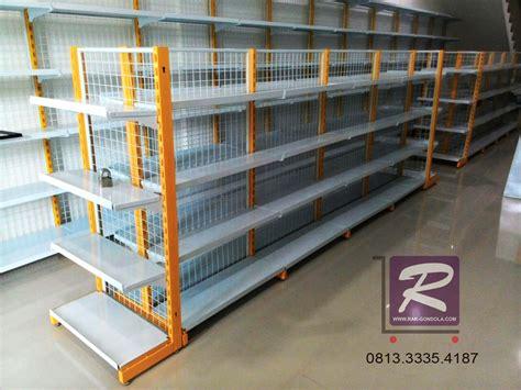 Jual Rak Minimarket Di Cirebon rak minimarket magetan jual rak gondola minimarket murah
