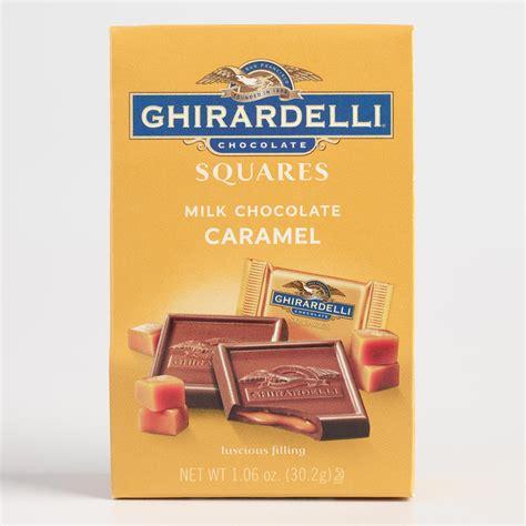 Milk Square ghirardelli mini milk chocolate and caramel squares