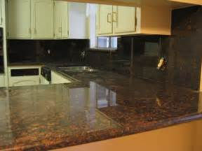 brown granite countertop pictures
