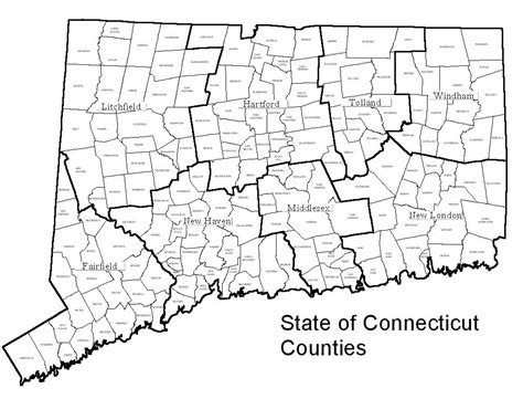 map of ct towns decd connecticut maps