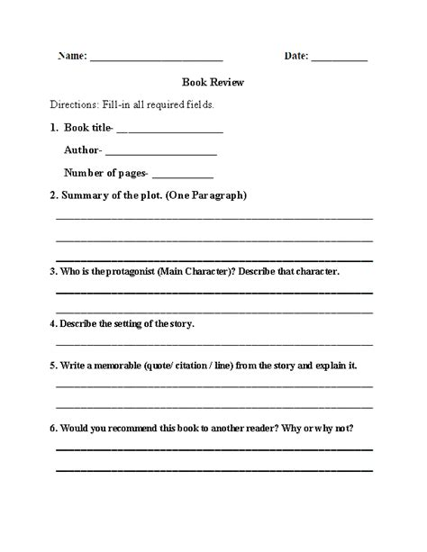 book report exles 9th grade 9th grade worksheets free worksheets library