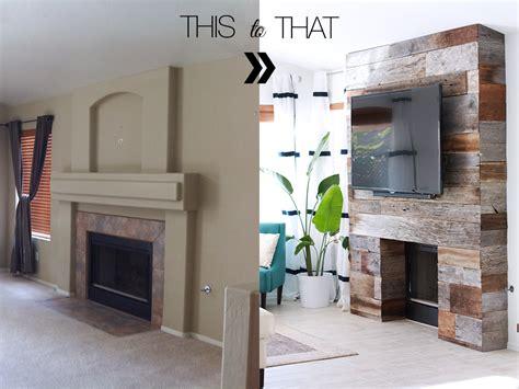 diy fireplace cover up diy reclaimed wood fireplace kristi murphy do it